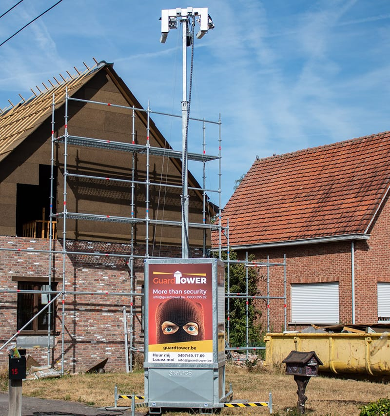 mobiele camerabewaking guardtower pittoors systems